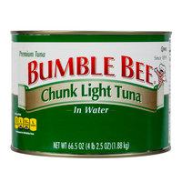 Bumble Bee 66.5 oz. Chunk Light Tuna in Water - 6/Case