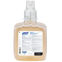 Purell® 6581-02 Healthy Soap® Healthcare CS6 1200 mL CHG Antimicrobial Foaming Hand Soap - 2/Case