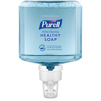 Purell® 7784-02 CRT Healthy Soap® Foodservice ES8 1200 mL Active Cleansing Fragrance Free Foaming Hand Soap - 2/Case