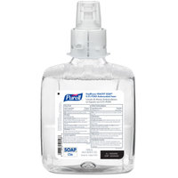 Purell® 6578-02 Healthy Soap® Healthcare CS6 1200 mL PCMX Antimicrobial Foaming Hand Soap - 2/Case