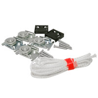 True 884605 Pulley and Door Cord Kit for True Merchandisers, Back Bar Coolers and Reach-in Coolers