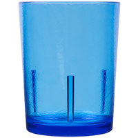 Cambro D14608 Del Mar 14 oz. Sapphire Blue Customizable Plastic Tumbler - 36/Case