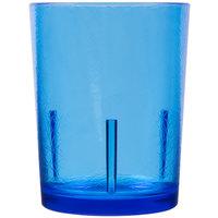 Cambro D14608 Del Mar 14 oz. Sapphire Blue Customizable Plastic Tumbler - 36/Case