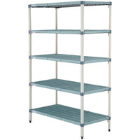 Metro 5AQ447G3 MetroMax Q Shelving Add On Unit - 21 inch x 42 inch x 74 inch