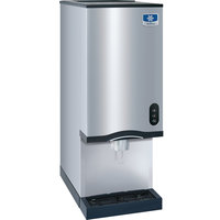 Manitowoc CNF0201A-L NEO 16 1/4 inch Air Cooled Countertop Nugget Ice Maker / Dispenser - 10 lb. Bin with Lever Dispensing