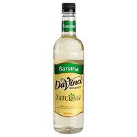 DaVinci Gourmet 750 mL All Natural Banana Flavoring / Fruit Syrup