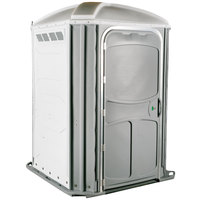 PolyJohn PH03-1008 Comfort XL White Wheelchair Accessible Portable Restroom - Assembled