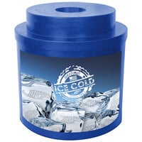 IRP Blue Super Cooler I 010 Keg / Beverage Cooler