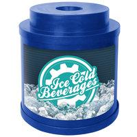 IRP Blue Super Cooler I 010 Keg / Beverage Cooler