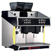 Grindmaster Tango ST Black Dual Group Espresso and Cappuccino Machine - 208V, 8700W