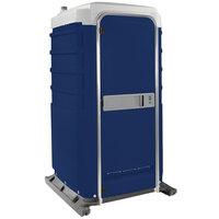 PolyJohn FS3-1016 Fleet Dark Blue Premium Portable Restroom - Assembled