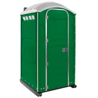 PolyJohn PJN3-1122 Verdant Portable Restroom with Translucent Top - Assembled