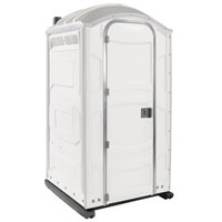 PolyJohn PJN3-1008 White Portable Restroom with Translucent Top - Assembled