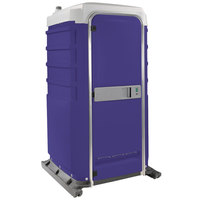 PolyJohn FS3-1010 Fleet Purple Premium Portable Restroom - Assembled