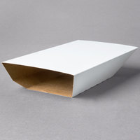 Clay Coated Kraft Food Tray Sleeves for 3 lb. Food Trays - 50/Pack