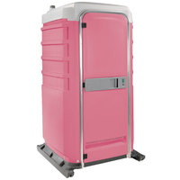 PolyJohn FS3-1012 Fleet Pink Premium Portable Restroom - Assembled