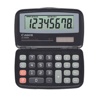 Canon 4009A006AA LS555H Handheld Foldable 8-Digit LCD Pocket Calculator