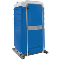 PolyJohn FS3-1001 Fleet Blue Premium Portable Restroom - Assembled