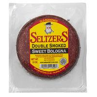 Seltzer's Lebanon Bologna 12 oz. Pack Sliced Double Smoked Sweet Bologna   - 16/Case