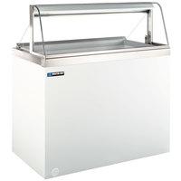 Master-Bilt DD-88CG 91 inch Curved Glass Ice Cream Dipping Cabinet