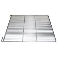 True 891292 Stainless Steel Wire Shelf with Shelf Clips and 1 inch Standoff - 23 1/2 inch x 27 3/4 inch