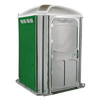 PolyJohn PH03-1122 Comfort XL Verdant Wheelchair Accessible Portable Restroom - Assembled