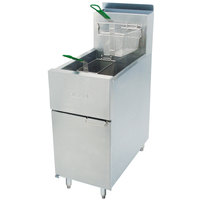 Dean SR52G Natural Gas Super Runner Floor Fryer 35-50 lb.