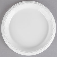Genpak 70600 Aristocrat 6 inch White Premium Plastic Plate   - 125/Pack