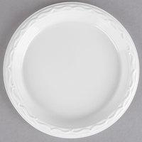 Genpak 70600 Aristocrat 6 inch White Premium Plastic Plate - 125/Pack