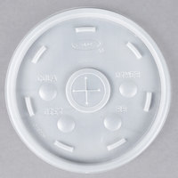 Dart Conex 20SL Translucent Lid with Straw Slot - 1000/Case