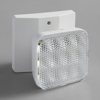 Lavex Industrial Indoor Single Head Remote LED Emergency Light - 1 Watt, 3.6V Compatibility