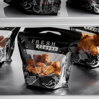 4 Piece Small Fresh Flavor Fried Chicken / Hot Food Bag - 250/Case