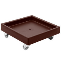 Cambro CD2020131 Dark Brown Camdolly Dish Rack / Glass Rack Dolly - No Handle
