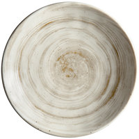Elite Global Solutions D71R Van Gogh Taupe 7 5/8 inch Round Melamine Plate - 6/Case