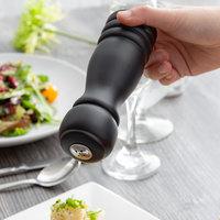 Choice 6 inch Black Wooden Salt Shaker
