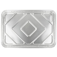 D&W Fine Pack 16006 25 3/4 inch x 17 3/4 inch Full Foil Sheet Cake Pan   - 25/Case