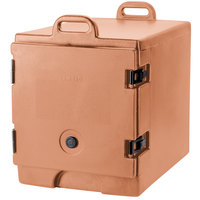 Cambro 300MPC157 Camcarrier Coffee Beige Front Loading Insulated Food Pan Carrier with Handles