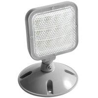 Lavex Industrial Outdoor / Indoor Single Head Remote LED Emergency Light - 1 Watt, 3.6V - 9.6V Compatibility