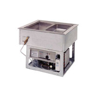 Wells HRCP7200ST Drop In Cold / Hot 2 Pan Dual Temp Well - Sloped Top