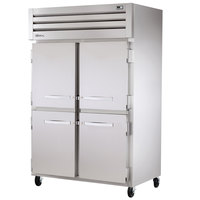 True STA2H-4HS Specification Series Two Section Solid Half Door Reach In Heated Holding Cabinet