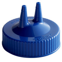 Vollrath 2300-44 Traex® Blue Twin Tip™ Wide Mouth Bottle Cap