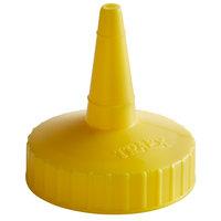 Vollrath 2813-08 Traex® Yellow Single Tip Standard Bottle Cap