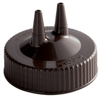 Vollrath 2300-01 Traex® Brown Twin Tip™ Wide Mouth Bottle Cap