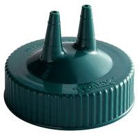 Vollrath 2300-191 Traex® Vista Green Twin Tip™ Wide Mouth Bottle Cap