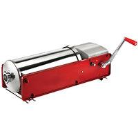 Manual 30 lb. Horizontal 2-Speed Enameled Steel Sausage Stuffer