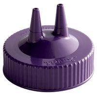 Vollrath 2300-54 Traex® Purple Twin Tip™ Wide Mouth Bottle Cap