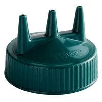 Vollrath 3300-191 Traex® Vista Green Tri Tip™ Wide Mouth Bottle Cap