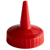 Vollrath 2813-02 Traex® Red Single Tip Standard Bottle Cap