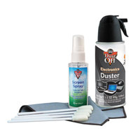 Falcon Safety DCKB Dust-Off Premium Keyboard Cleaning Kit