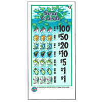 Sea of Cash 5 Window Pull Tab Tickets - 4000 Tickets per Deal - Total Payout: $3000